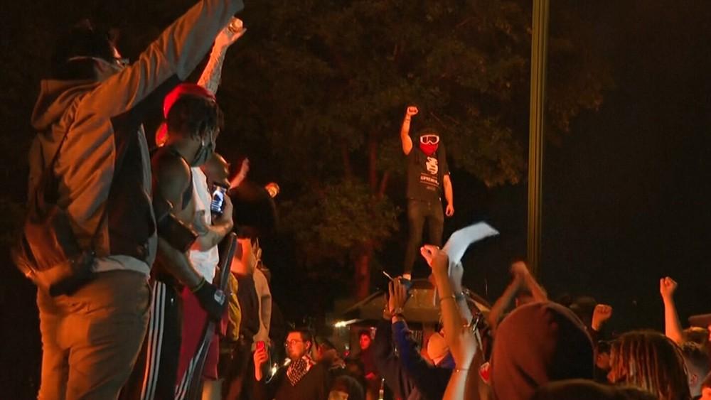 Уличные беспорядка в США