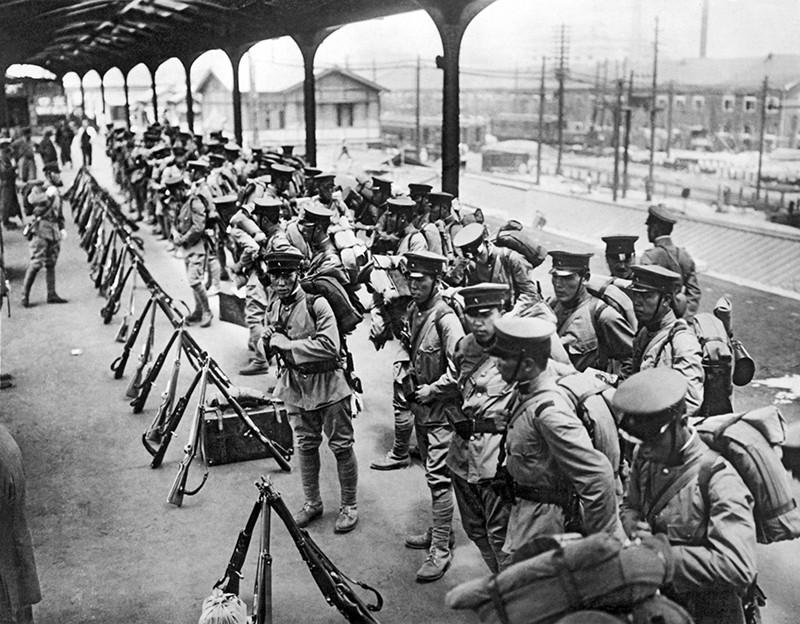 Китайские войска в Маньчжурии