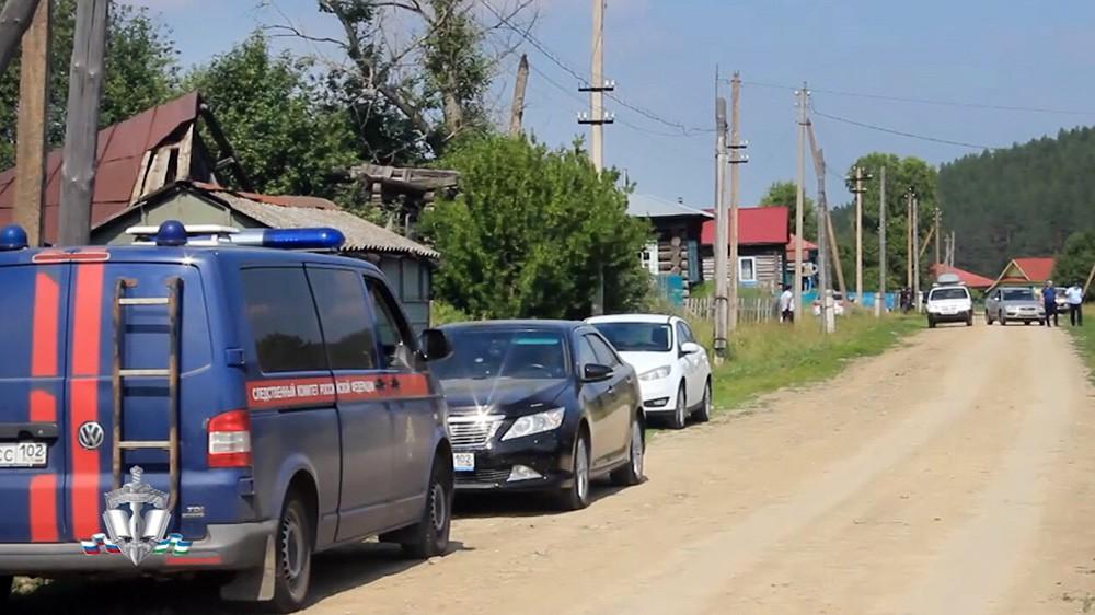 Следственные действия на месте преступления в Башкирии