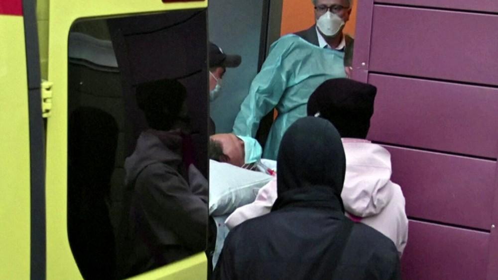 Госпитализация Алексея Навального