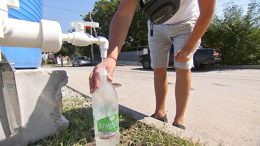 Нехватка воды в Крыму
