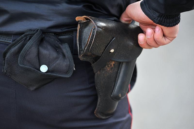 Оружие сотрудника полиции
