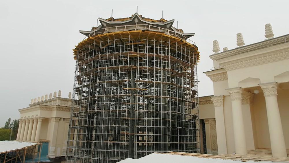 Реконструкция павильона на ВДНХ