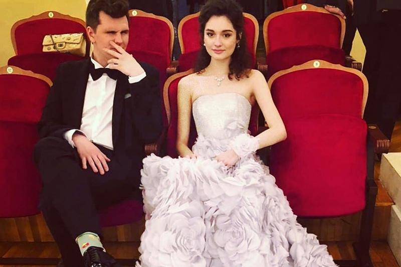 Мария Михалкова-Кончаловская и Никита Кузьмин