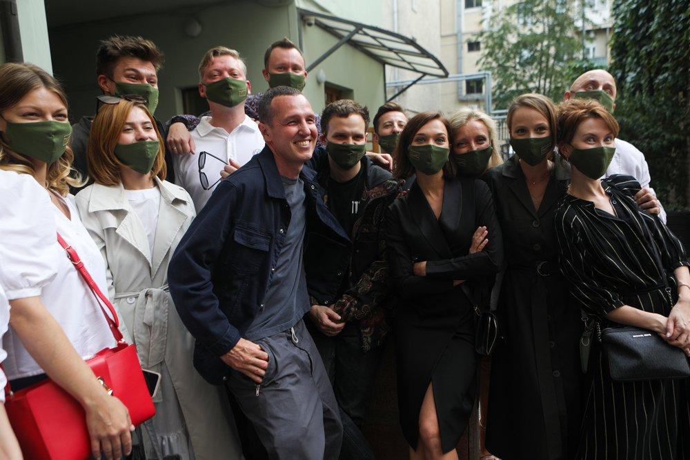 Сбор труппы Московского художественного театра (МХТ) имени Чехова