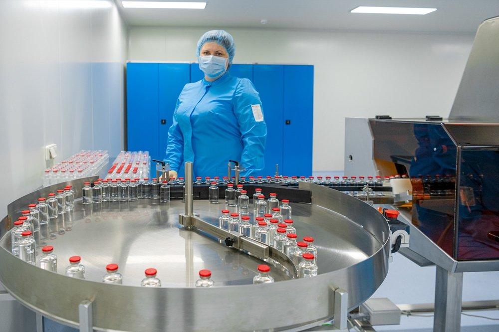 Ввод в эксплуатацию первой очереди завода по производству лекарственных препаратов