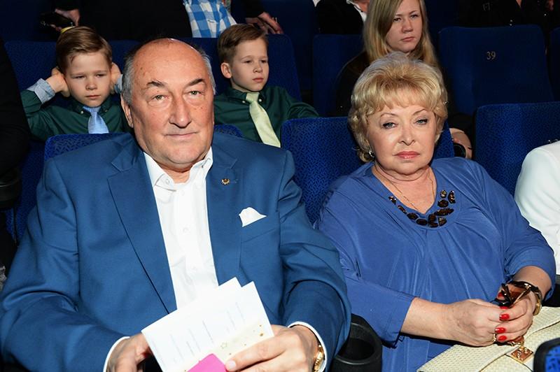 Борис Клюев и Анна Фроловцева