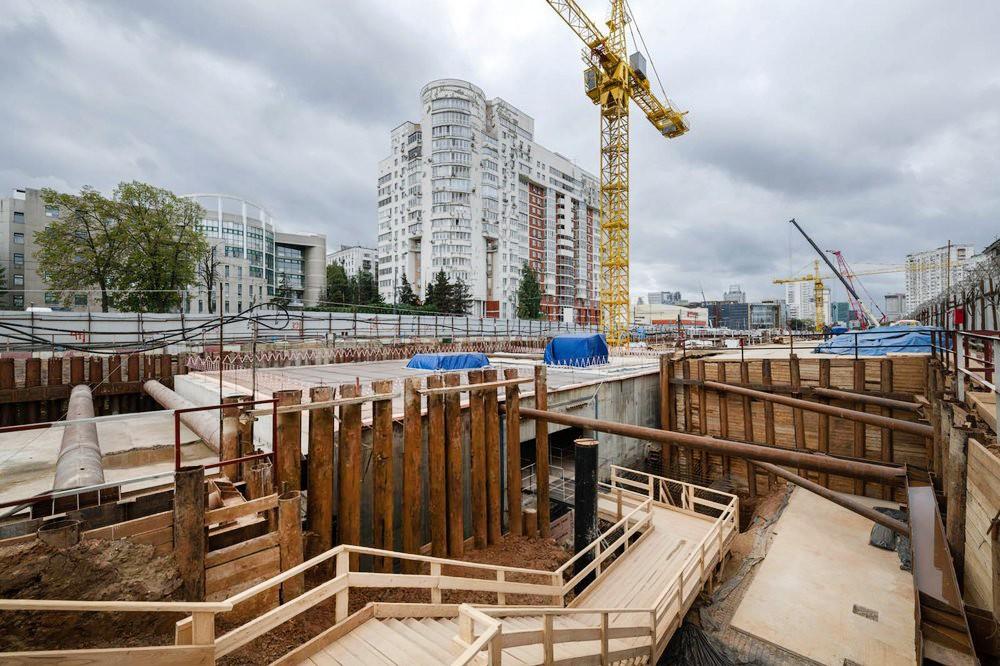 "Строительство станции метро ""Зюзино"""