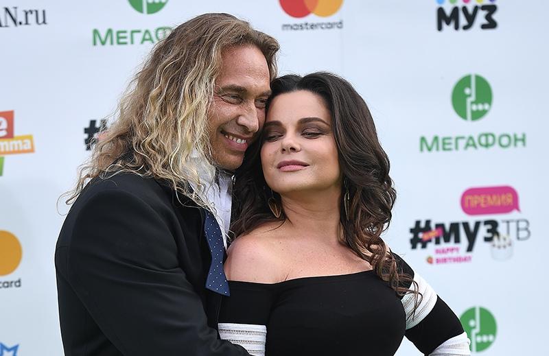 Наташа Королева и её супруг Сергей Глушко