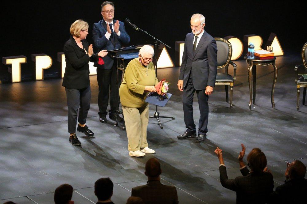 Торжественное открытие 100-го сезона в Театре имени Вахтангова