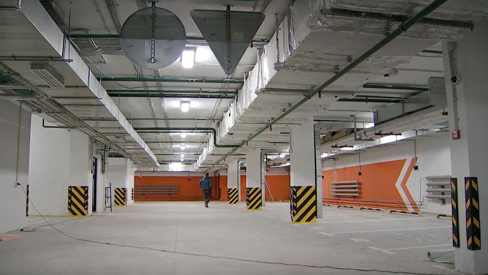 Подземный паркинг