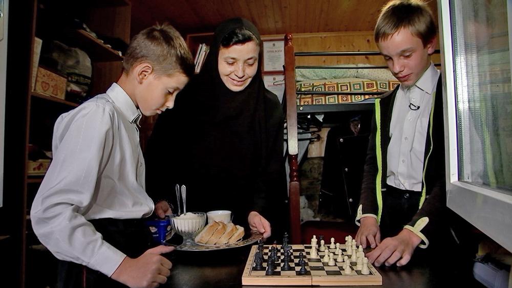 Учащиеся православной гимназии