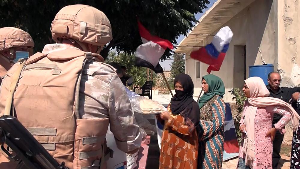 Гумпомощь жителям Сирии