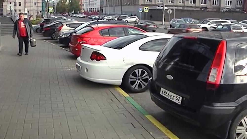 Парковка в Нижнем Новгороде