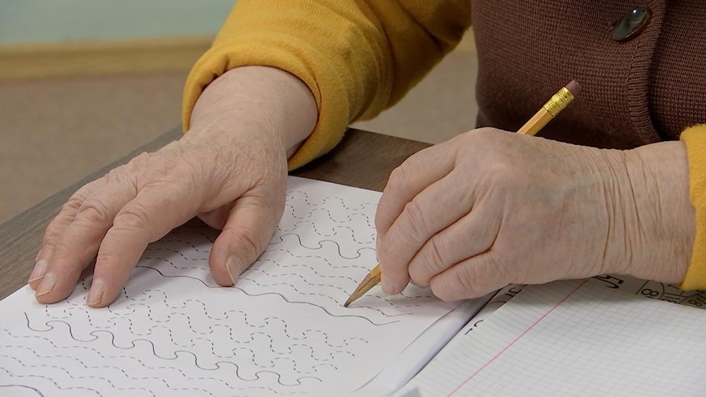 Занятия для пожилых с деменцией