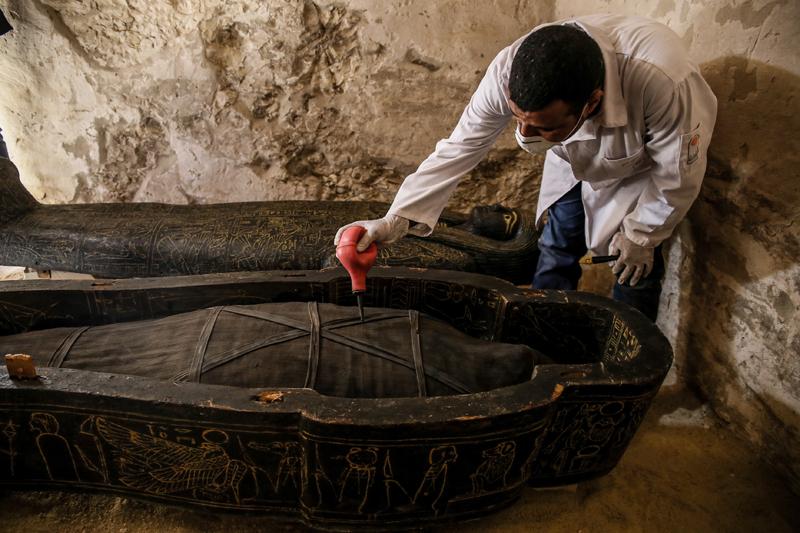Древний египетский некрополь