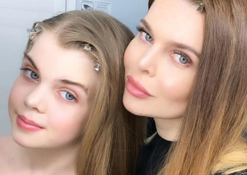 Надежда Славина и ее дочь Диана