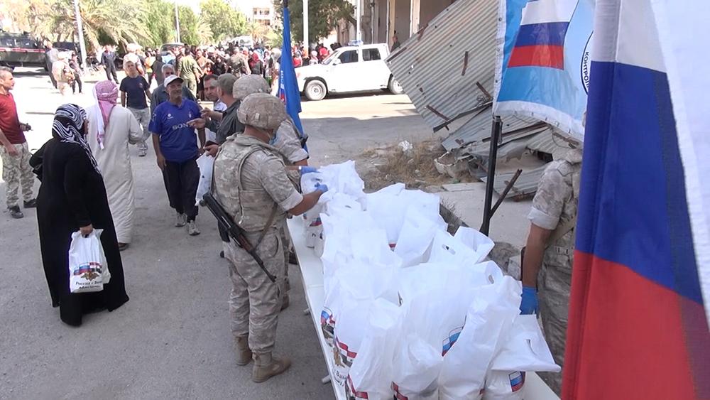 Гумпомощь в Сирии