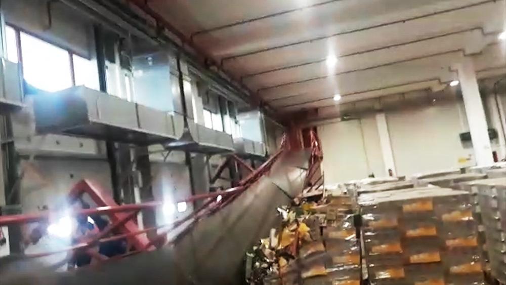 Обрушение моста в Ступино