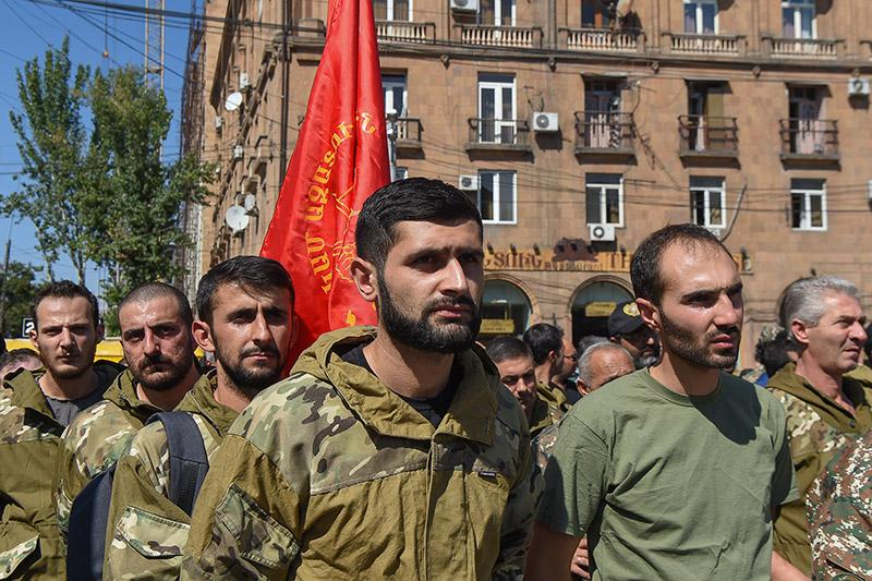 Военное положение и всеобщая мобилизация в Армении