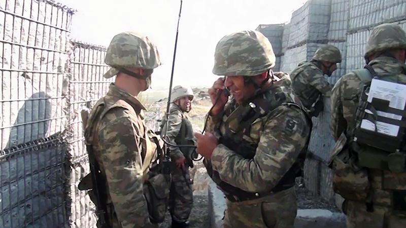 Вооруженные силы Азербайджана ведут боевые действия в Нагорном Карабахе