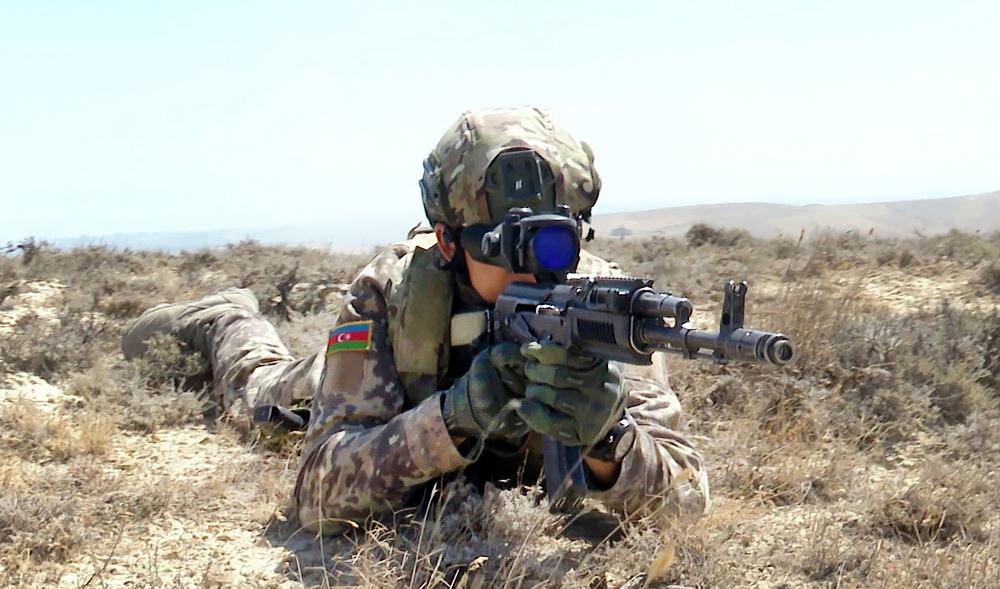 Военнослужащие армии Азербайджана