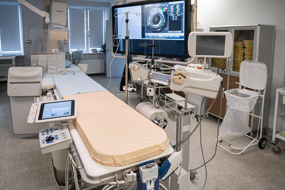 Медицинское оборудование в больнице