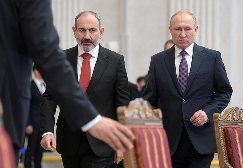 Владимир Путин и Николай Шульгинов