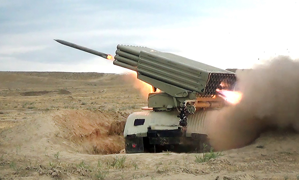 Ракетный комплекс армии Азербайджана