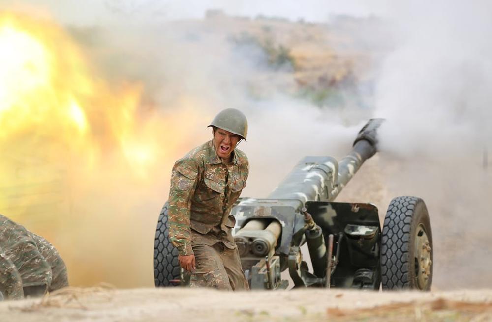 Артиллерия армии Армении