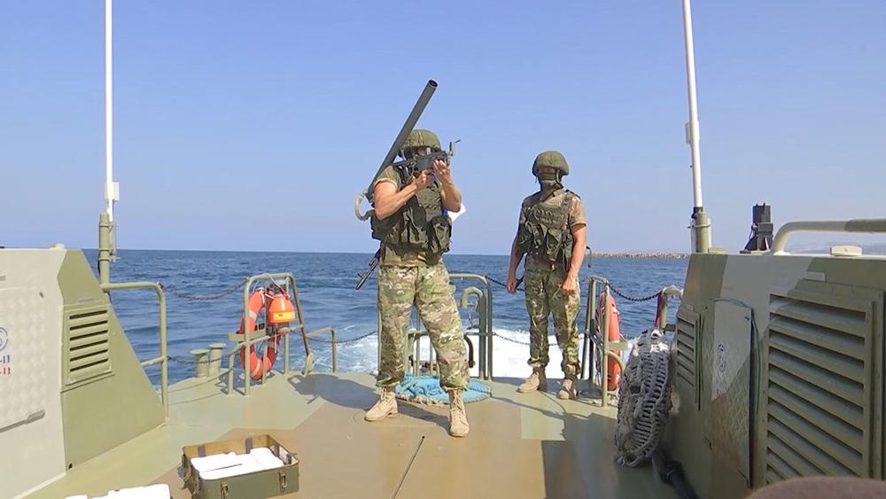 Морской спецназ в Сирии