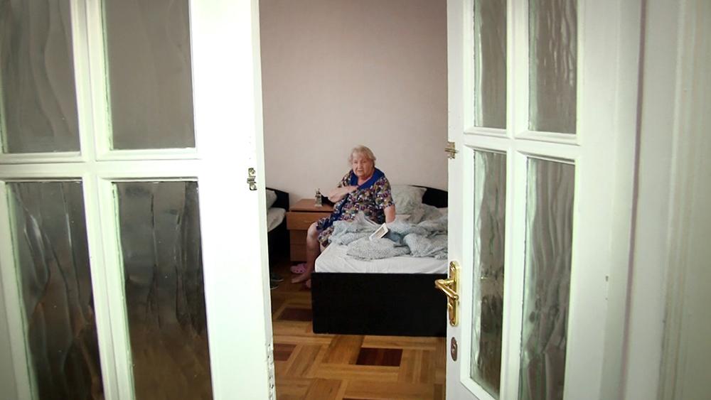 Постояльцы частного дома престарелых