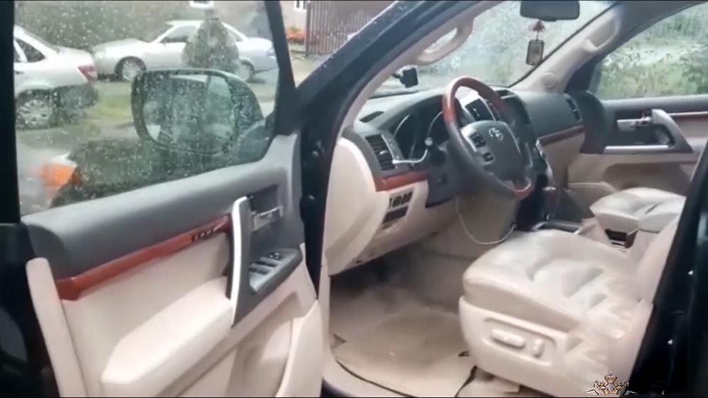 Изъятый автомобиль
