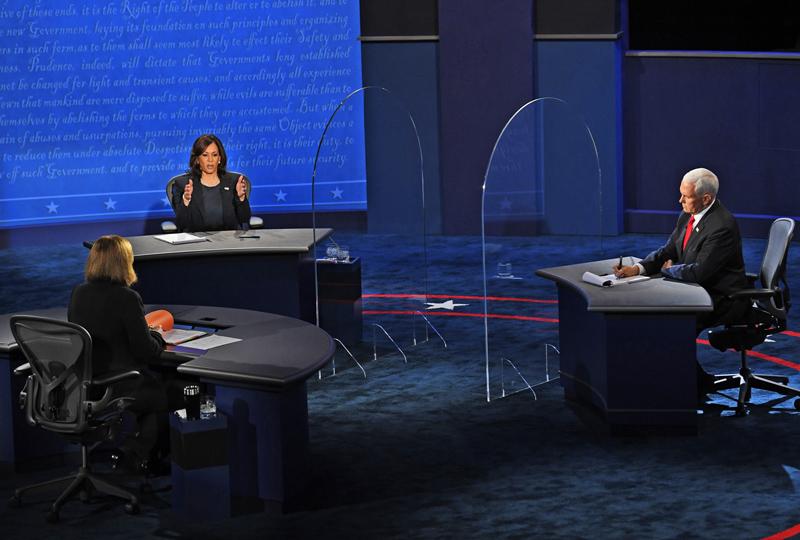 Дебаты кандидатов в вице-президенты США