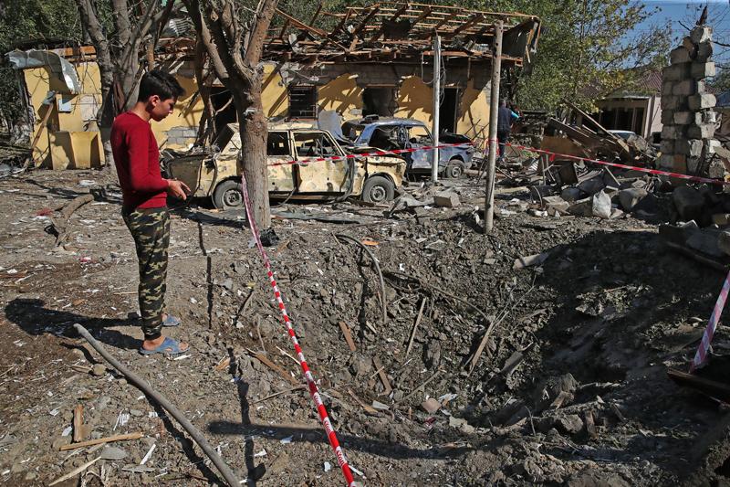 Военный конфликт в Нагорном Карабахе