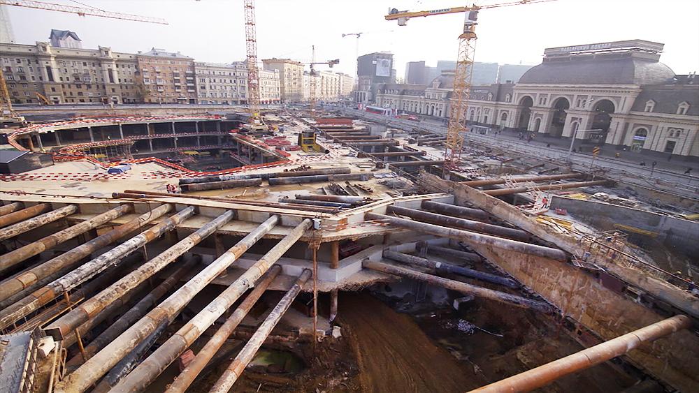 Реконструкция площади у Павелецкого вокзала