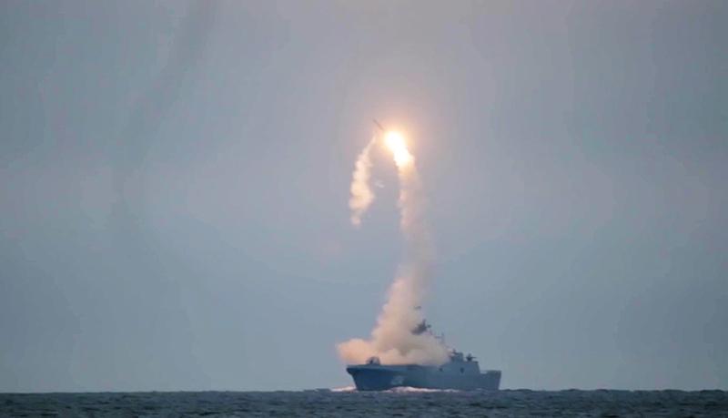 """Первый запуск гиперзвуковой ракеты """"Циркон"""""""