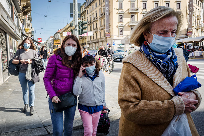 Ситуация с коронавирусом в Европе