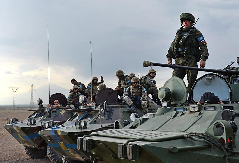 Миротворцы Минобороны России