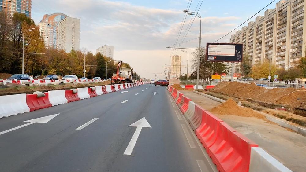 Реконструкция на Ленинском проспекте