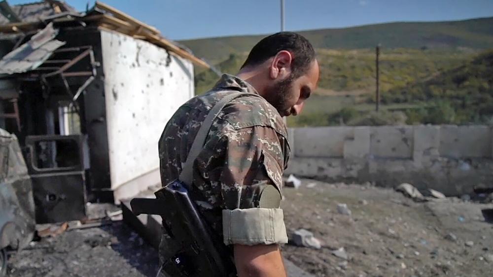 Военные действия в зоне Нагорного Карабаха