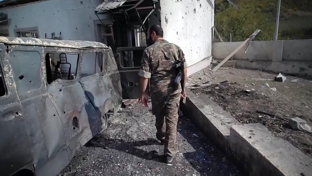 Последствия военных действий в зоне Нагорного Карабаха