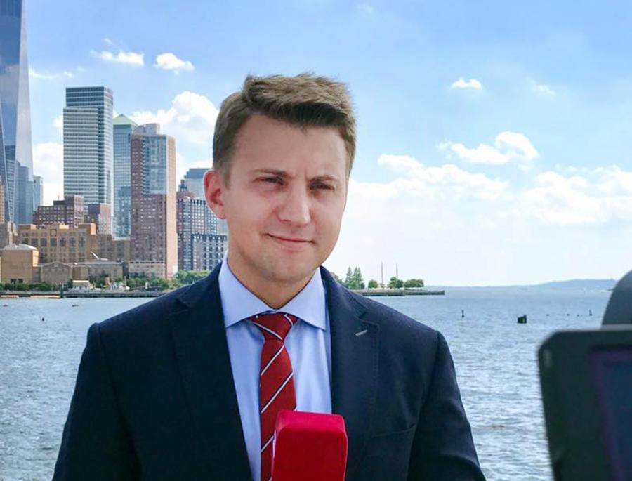 Журналист Константин Рожков
