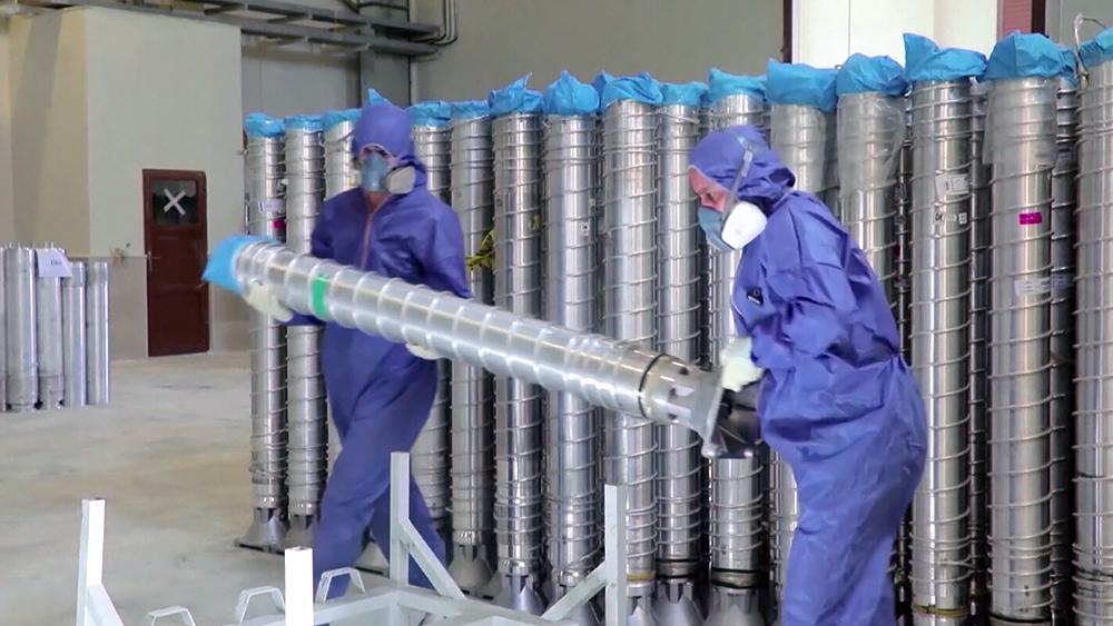 Работа ядерного реактора в Иране