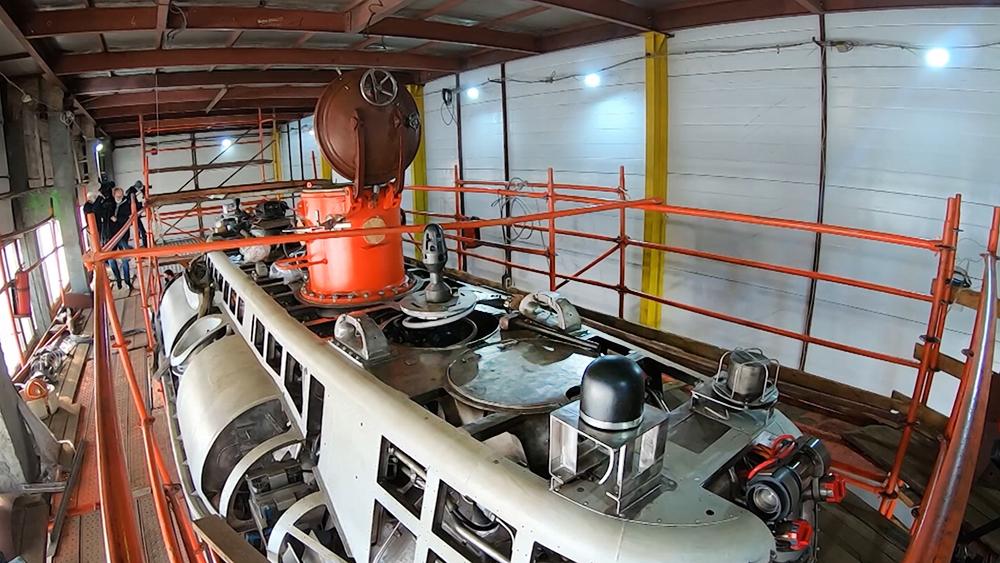 Модернизация глубоководного аппарата