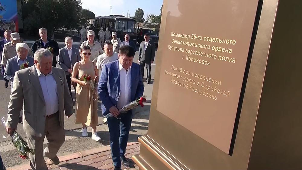 Памятник летчику Ряфагатю Хабибуллину, погибшему при исполнении воинского долга в Сирии
