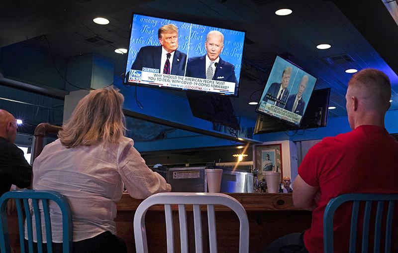 Дебаты Дональда Трампа и Джо Байдена