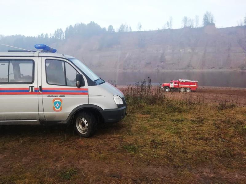 На месте аварии вертолета