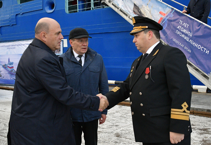 Рабочая поездка премьер-министра Михаила Мишустина в Мурманск