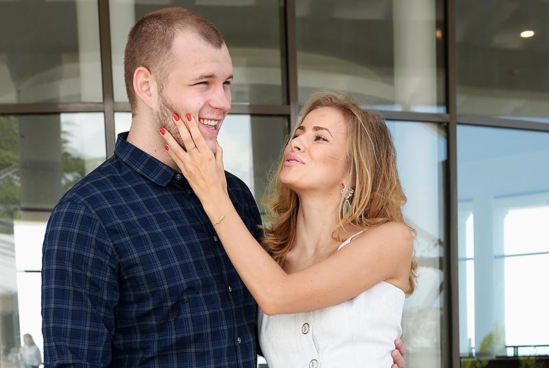 Актер Сергей Бондарчук с экс-супругой Татой